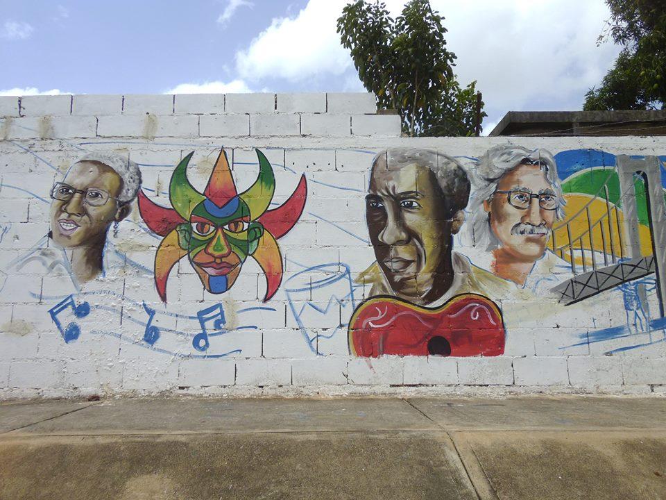 Alcaldia Bolivariana De Heres Murales En Honor A Ciudad Bolivar